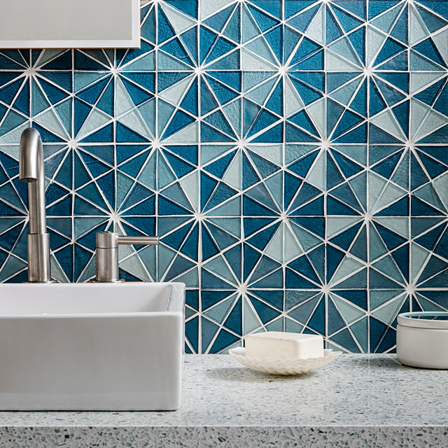 Oceanside Glass Tile-Bathroom Inspiration-Oceanside-Sherwin Williams