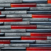 red-iridescent-glass-and-silver-quartzite-dimensional-tile
