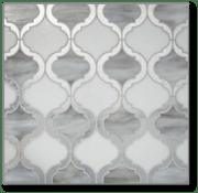 glass tile, tile, interior design, feature wall, backsplash tile, hexagon tile, dimensional tile, bathroom tile, kitchen tile, home remodel, design, home decor