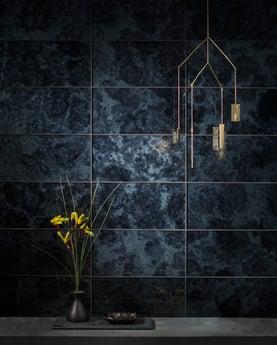 6x12, antique-mirror-tile, Subway-tile, black-tile, oceanside-glasstile, devotion-collection