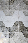 Tessera Collection - Kaleidoscope Specific Pattern E using Platinum, White and Oxygen.