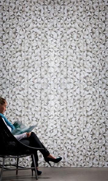Tessera Collection - Kaleidoscope Pattern - Random Placement - Promis Blend