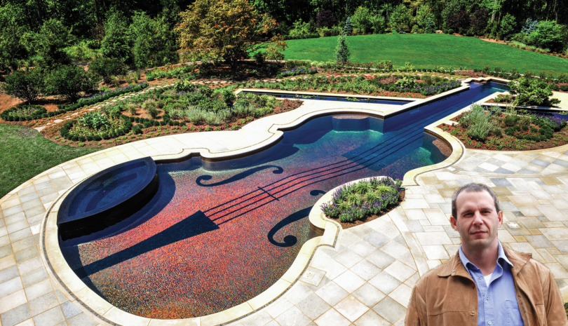 Chris Cipriano of Cipriano Landscape Design is striking a chord.