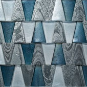 blue-iridescent-glass-tile-silver-quartzite-dimensional-stone